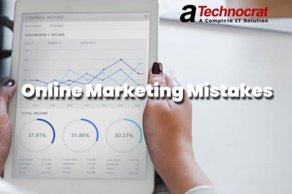 online marketing mistakes