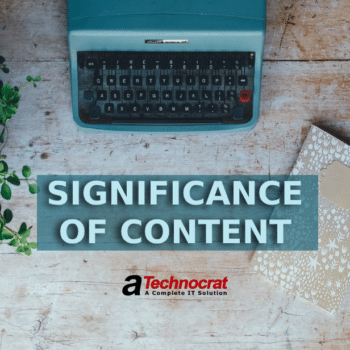 significance of content