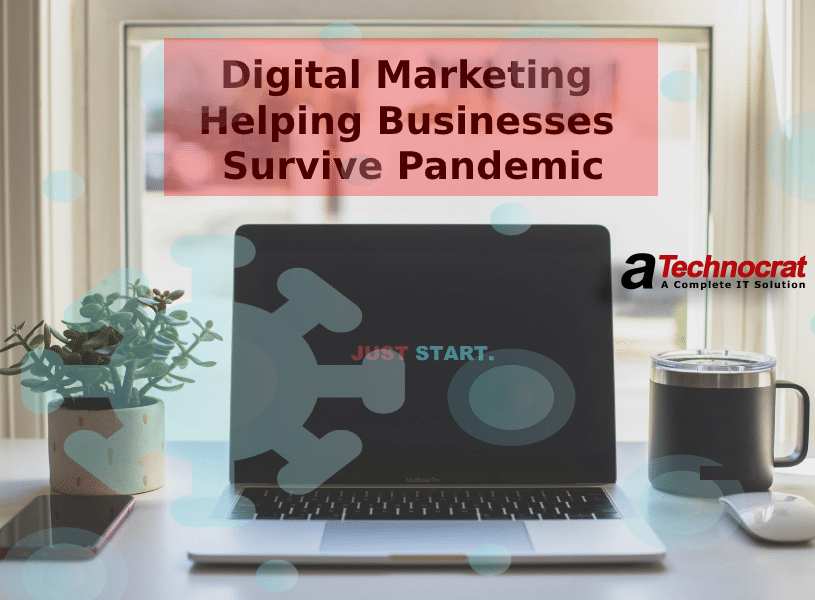 digital marketing helping business survive pandemic